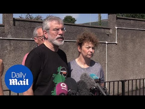 Gerry Adams urges attackers to meet him and 'explain rationale'