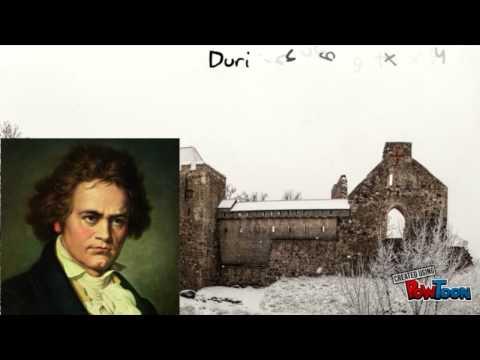 Ludwig Van Beethoven Short Biography (created using Powtoon)