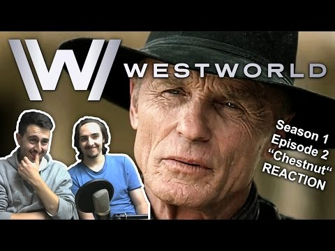 "Westworld Season 1 Episode 2 REACTION ""Chestnut"""