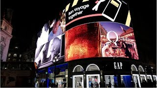 Exploring Piccadilly Circus In London