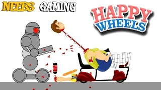 DUMB WAYS TO DIE !!! (Happy Wheels)