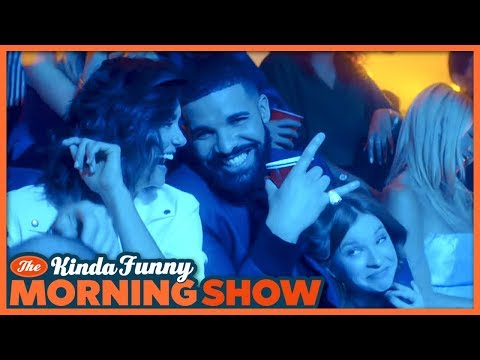 Drake's Degrassi Reunion is EVERYTHING! - The Kinda Funny Morning Show 06.19.18