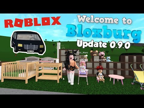 Huge Bloxburg Map Update New Cars Locations Roblox Bloxburg Baby Update 0 9 0 Youtube