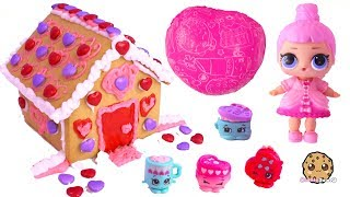 Fizzy Shopkins Bath Bomb with LOL Surprise + Candy House