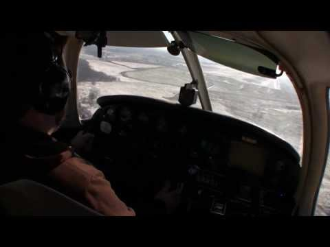 Episode 17 - P28A Landing at KNXA in Front of Commercial Jet - Solo 172nm XC (Part 1)