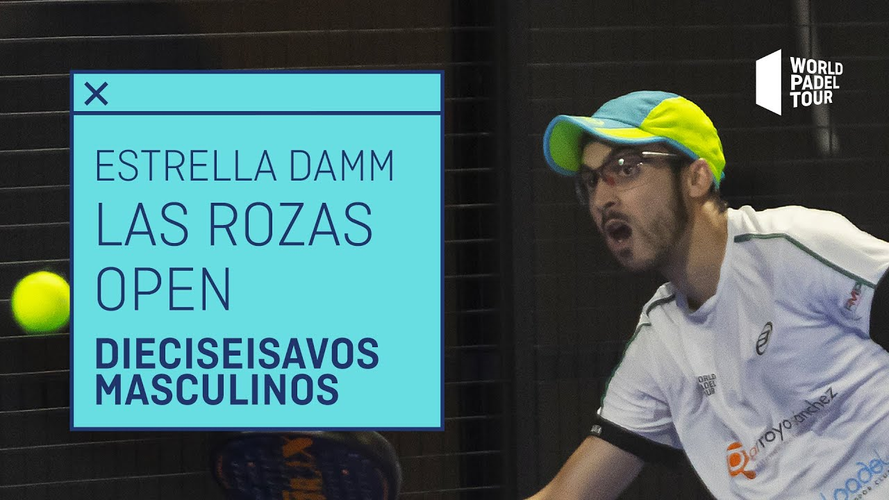 Resumen dieciseisavos (turno 2) Estrella Damm Las Rozas Open