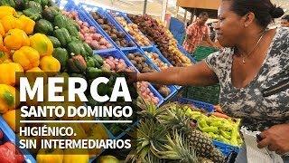 Merca Santo Domingo. Higiénico. Sin intermediarios.