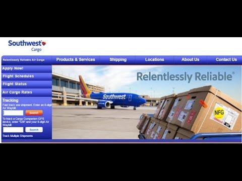 Southwest Cargo Tracking,Southwest Air Cargo Tracking Status