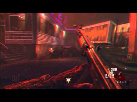 3D Black ops 2 zombie gamepay