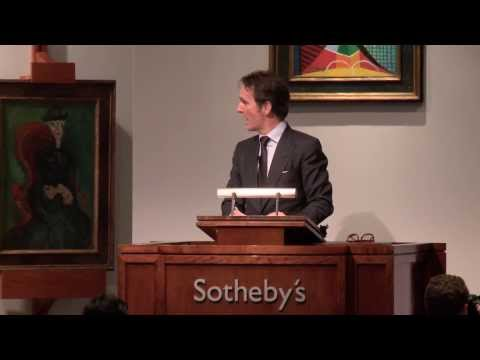 Sotheby's $290 Million Impressionist & Modern Art Evening Auction in New York
