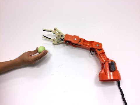 UIST 2017 Student Innovation Contest: Robotic Arm