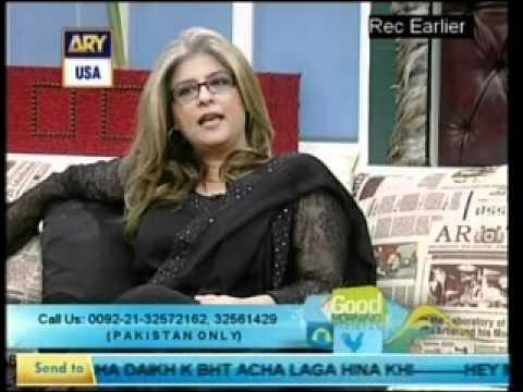 MARINA KHAN-INTERVIEW BY DR SHAHISTA WAHIDI-GOOD MORNING PAKISTAN-(3-3)