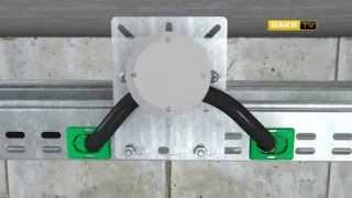 видео металлические лотки для кабеля