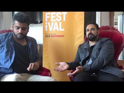 Los Angeles Film Festival 2016: Sunkrish Bala and Tanuj Chopra for Chee and T