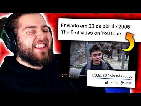 OS PRIMEIROS VÍDEOS DO YOUTUBE