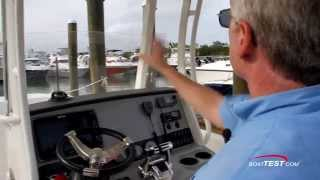 Boston Whaler 270 dauntless - Features 2014- By BoatTest.com