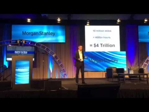 Morgan Stanley's Adam Jonas and the automotive industry disruption at Automotive World Congress