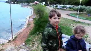 Croatia.Kanegra nudists` camp. 10Jul2014