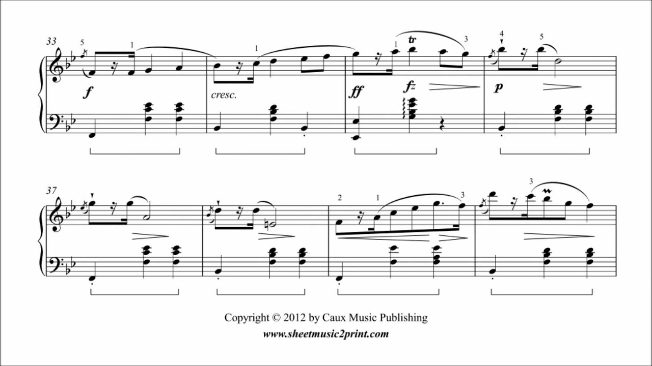 Chopin mazurka op 33 no 3 analysis report