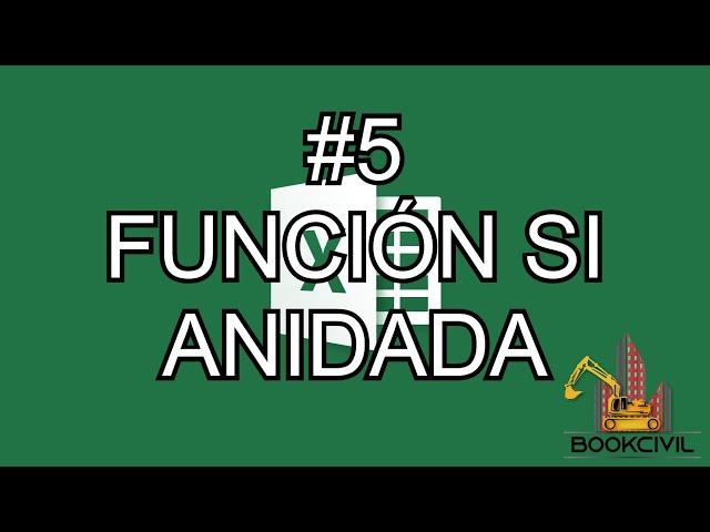 Curso de Excel - #5 Funsion SI anidada