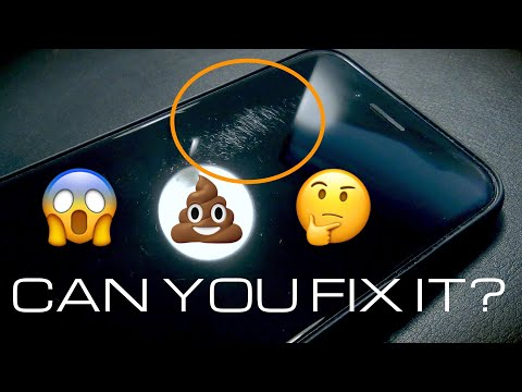 Remove nasty scratches from my iPhone | Displex Test