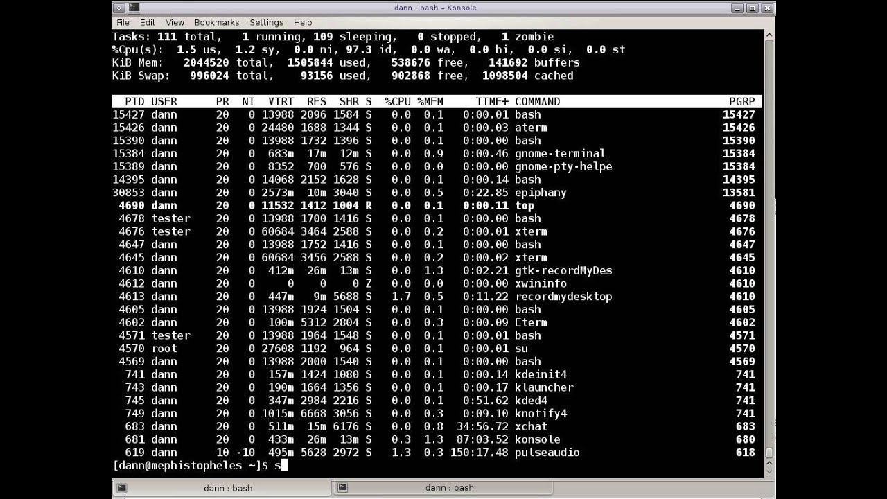 Linux In The Shell | An exploration of Linux commands in the