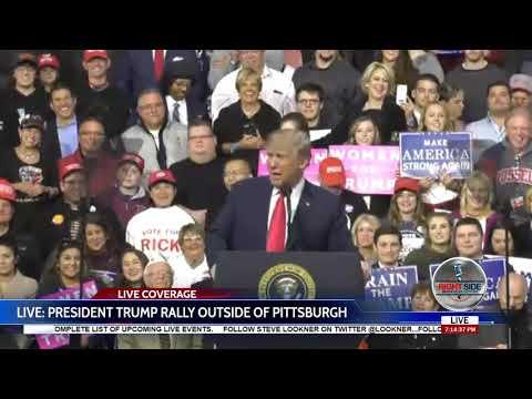 Full Speech: President Donald Trump EXPLOSIVE Rally in Moon Township, PA 3/10/18