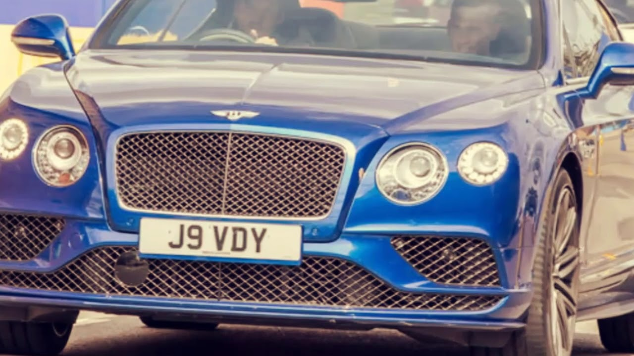 Jamie Vardy With Bmw Bentley Car Collection Youtube