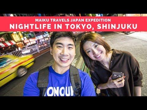 NIGHTLIFE IN TOKYO! ARRIVING IN JAPAN - 001