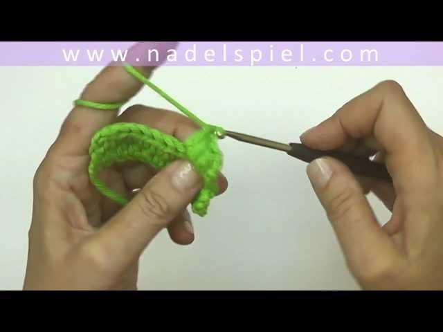 Häkeln Lernen Mit Elizzza 12 Ganze Stäbchen Einfache Stäbchen