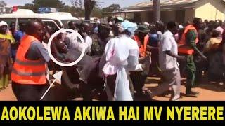 BREAKING: Mhandisi Mkuu MV NYERERE Aokolewa Akiwa Hai