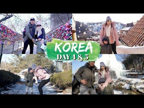 LAST DAY IN KOREA! | NAMI ISLAND | NAMSAN TOWER | Peevee Dela Rosa