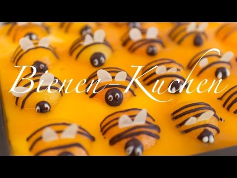 Aprikosen Bienen Kuchen Osterkuchen Aprikosentorte Youtube