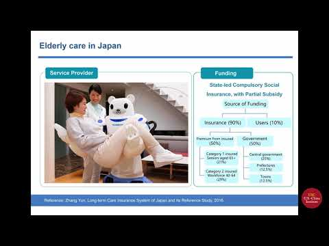 "CHEN Poujian Discusses Caring for the Elderly at ""China: Finding Solutions"""