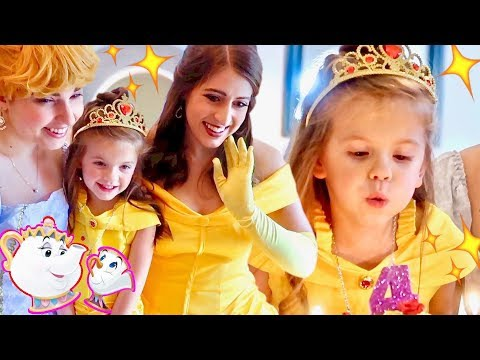 MAGICAL DISNEY PRINCESS TEA PARTY in REAL LIFE!