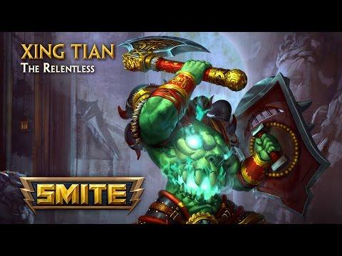 SMITE - God Reveal - Xing Tian, The Relentless