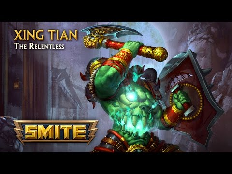SMITE - God Reveal - Xing Tian, The Relentless
