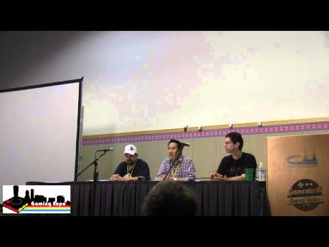 Retro Gaming Roadshow panel - Gamester81