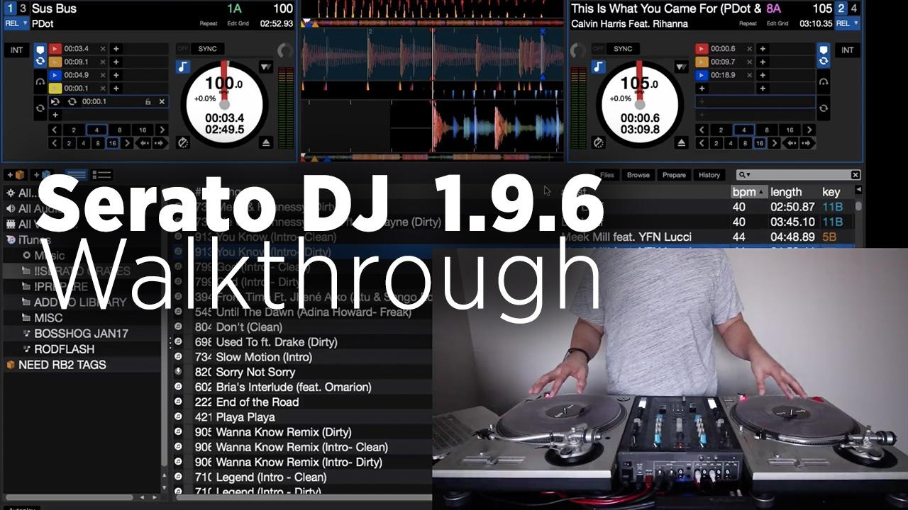Serato DJ 1 9 6 Beta: New Feature Walkthrough