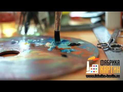 Создание копии картины Винсента ван Гога, Цветущие ветки миндаля