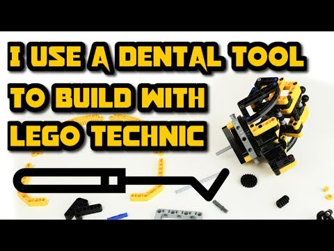 A Handy Tool For Building With LEGO Technic!  --TIP--