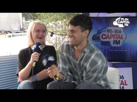 #FusionCapital 2015 - Clean Bandit Interview | Tom and Claire