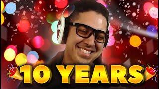 I GOT 10 YEARS UNDER MY BELT NOW!!! 10 YEARS....