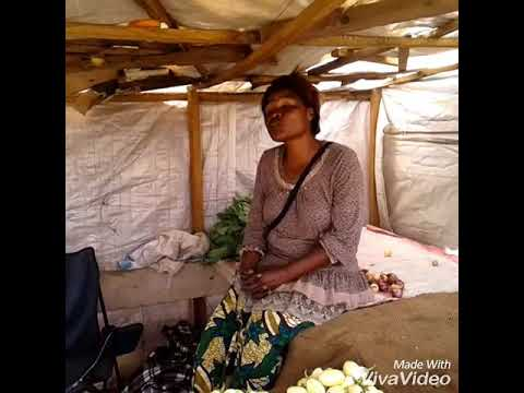 Kanyama woman owning a mall scale business by Debbie Zulu