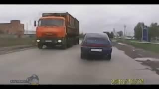ВАЗ 2112 авто приколы на дороге
