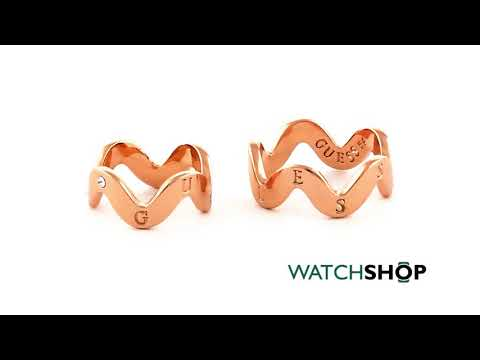 Guess Waves Of Passion Upper Finger Ring (UBR85033-54)