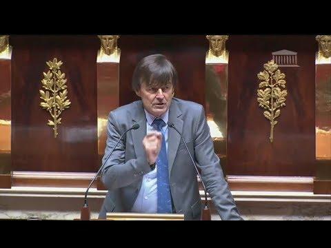 Discours de Nicolas Hulot lors du débat sur le projet de loi hydrocarbures à l'Assemblée nationale