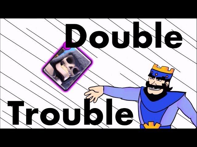 Clash Royale Parody Animation # 6 || DOUBLE TROUBLE Giant Skeleton