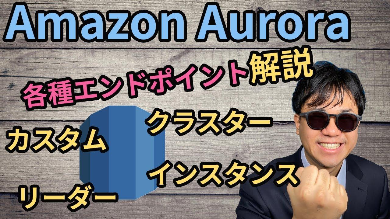 【AWS入門】図解で学ぶRDS Auroraの数々のエンドポイント 【RDS エンドポイント編】