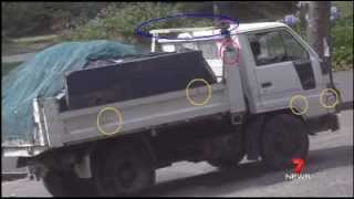 Asbestos dumping driver caught on CCTV